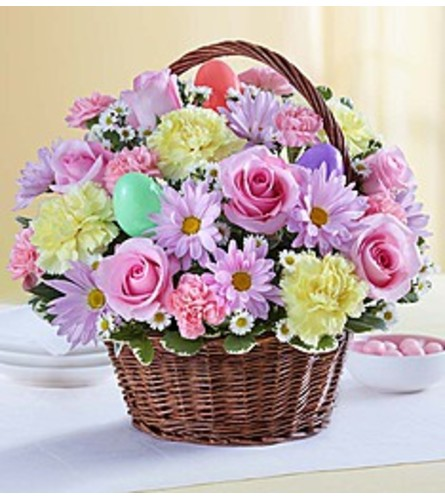 The Easter Egg Holiday Basket