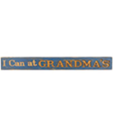 Grandma's Wood Message Bar