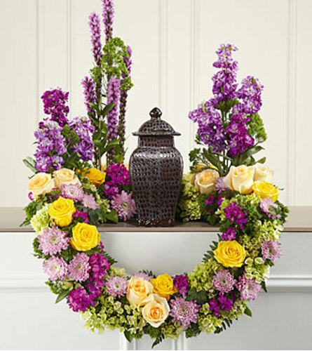 Garden Path Urn Arrangement