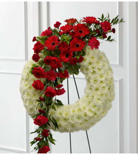 Cascading Wreath