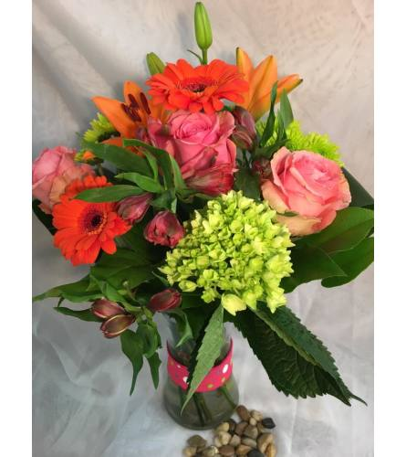 Citrus Delight Vase Arrangement