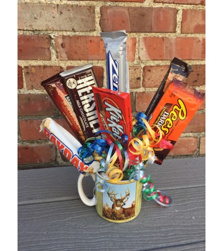 Coffee Mug Candy Bouquet
