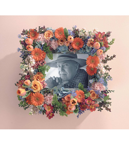 Floral Picture Frame  SF91-11