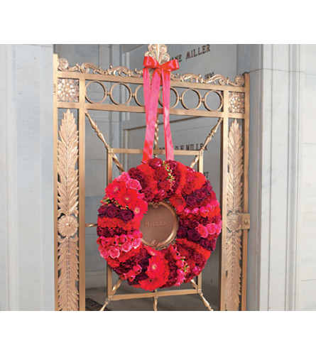 Red Pave Wreath SF77-11