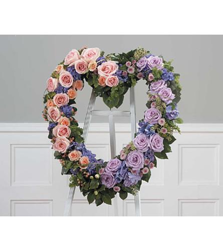 Heart Lavender, Orange, Green  SF139-11