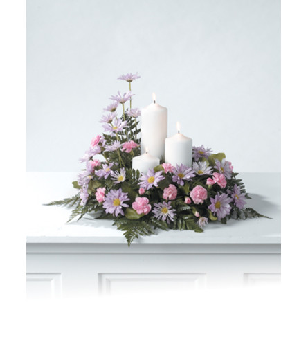 Pillar Candle Arrangement  CTT61-11