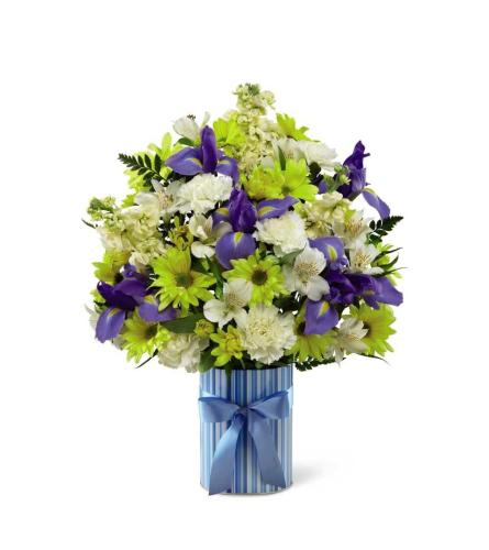 LITTLE MIRACLE BOY BOUQUET