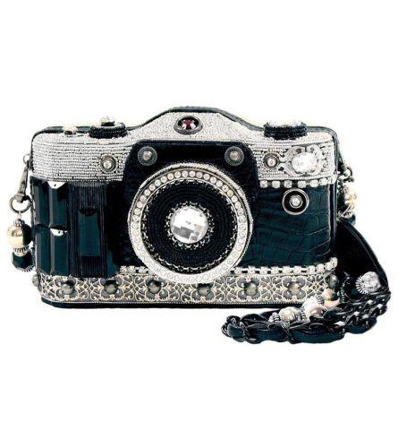 Mary Frances Camera Handbag