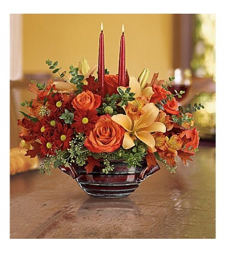 Teleflora Autumn Gathering Bouquet