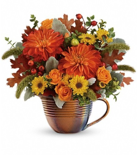 Teleflora Autumn Sunrise Bouquet
