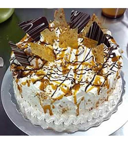 Caramel Explosion Cake