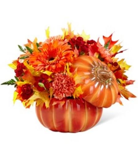 Bountiful Bouquet of Fall Pumpkin