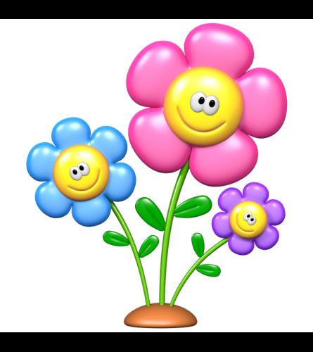 JOYFUL VASE OF FLOWERS