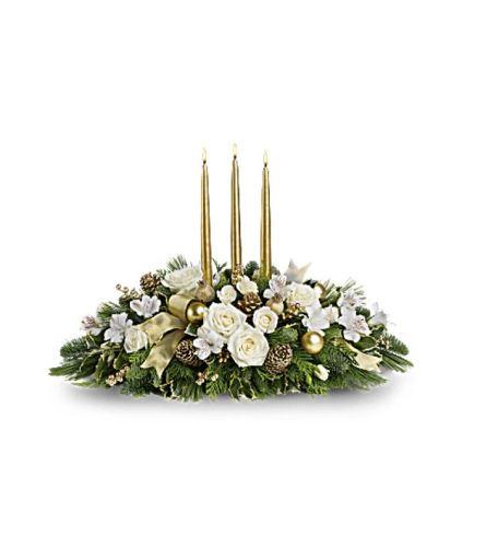 Royal Christmas Centerpiece