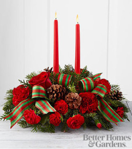 FTD Holiday Classic Centerpiece