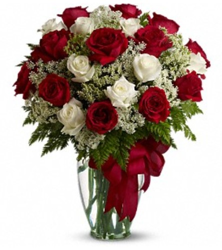 Love's Divine Bouquet - 24 Stemmed Roses