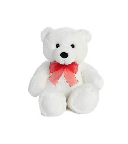 White Plush Bear