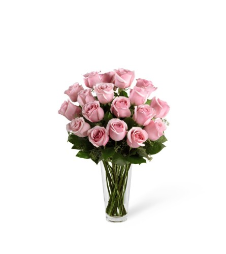 The FTD® Pastel Pink Rose Bouquet