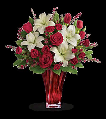 Love passion bouquet