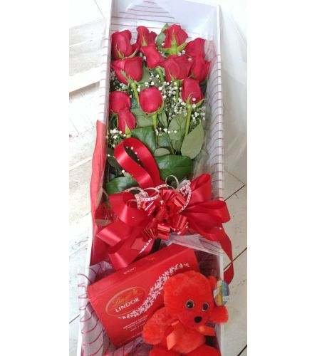 Boxed Rose Special