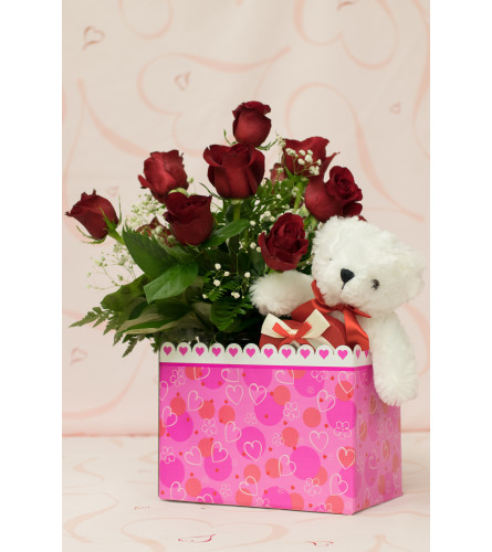 Valentine Box Special - Red Roses