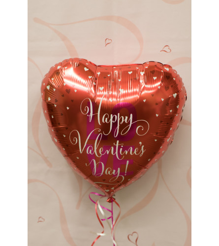 FM Happy Valentine's Day Balloon