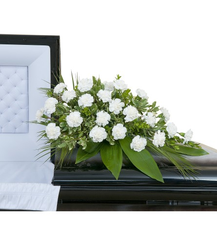 Simple Love Casket Spray