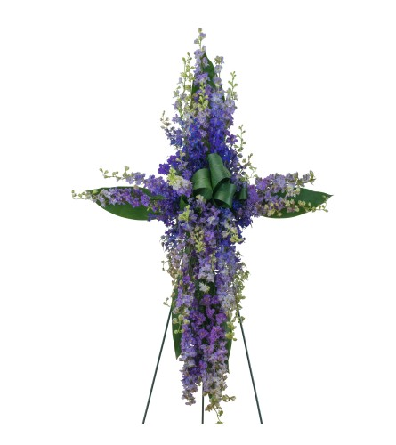 Lovingly Lavender Cross