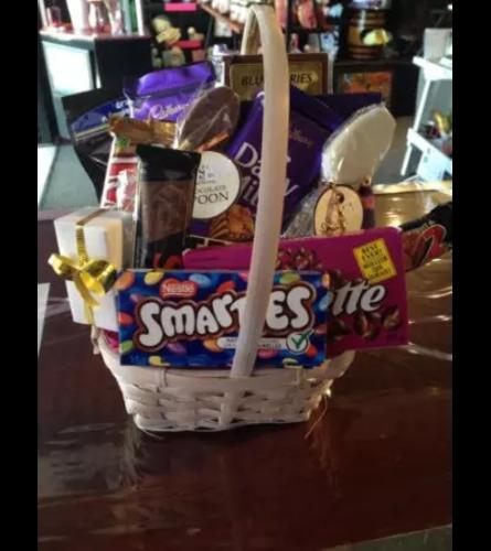 Chocolate and Treats Basket