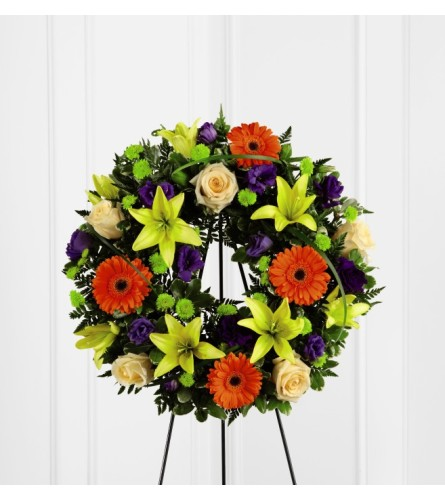 FTD's Radiant Remembrance™ Wreath