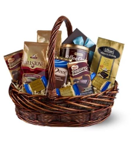 Chocolate & Coffee Basket by Teleflora
