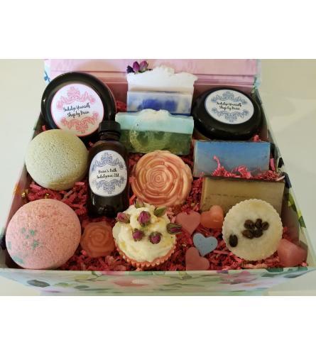 Large Gift set natural indulgence