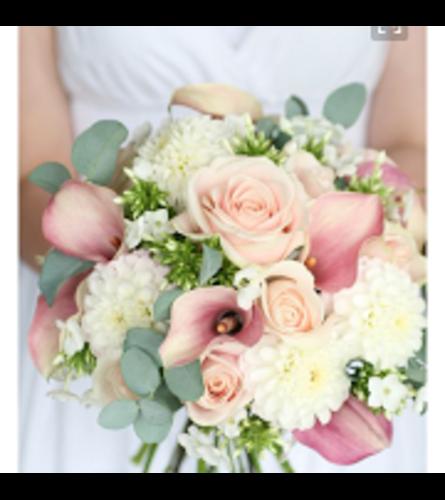 Brides. Bouquet