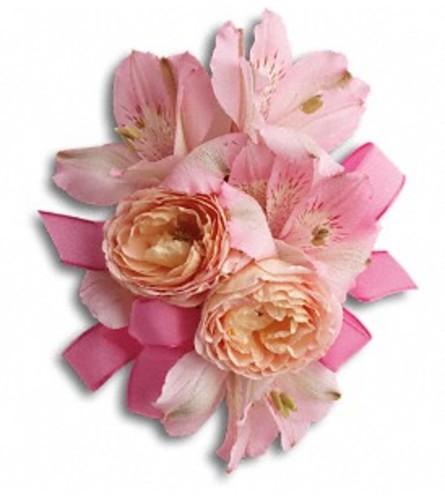 Beloved Blooms Pink Corsage