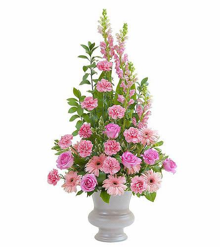 Teleflora - Peaceful Pink Large Urn