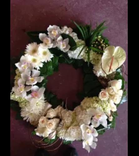 Modern Caring Wreath