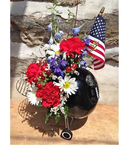 4th of July Webber Grill Bouquet