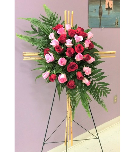Custom Rose Cross
