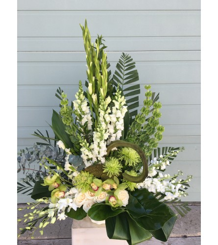Elegant Modern Funeral Tribute