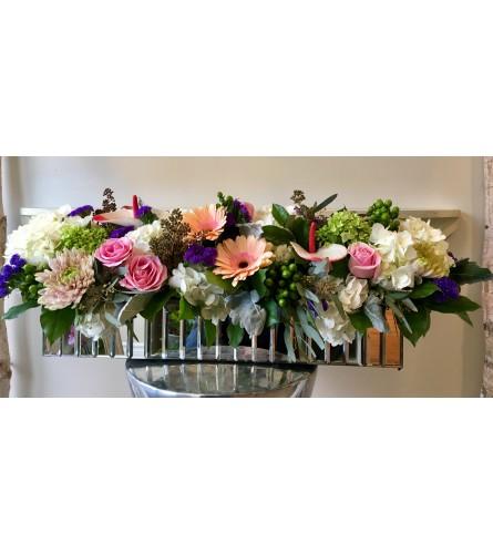 Mixed Floral Centerpiece.