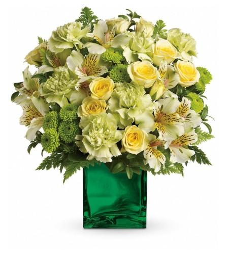 The Emerald Elegance Bouquet