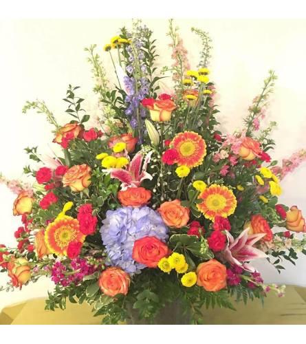 Grace - Bright Flowers