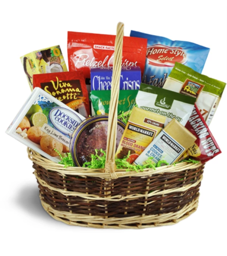 Deluxe Sweet & Savory Snacks Basket™ by Lovingly