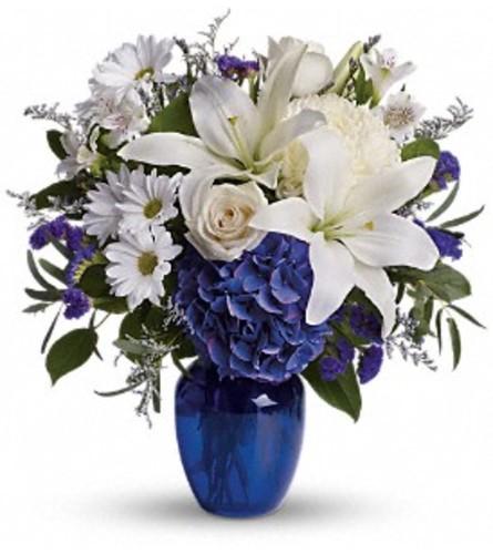 Beautiful Blue Bouquet
