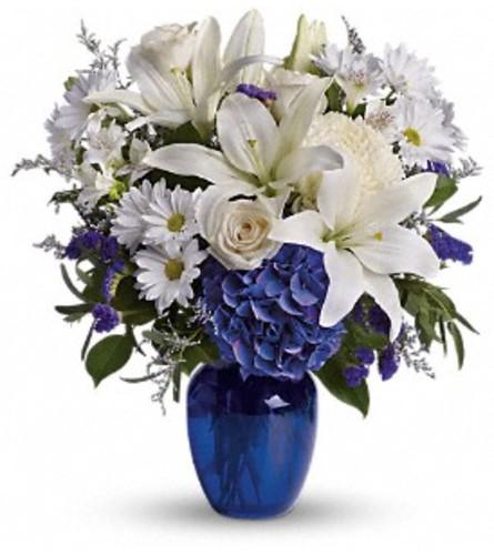 Breathtaking Blue Bouquet