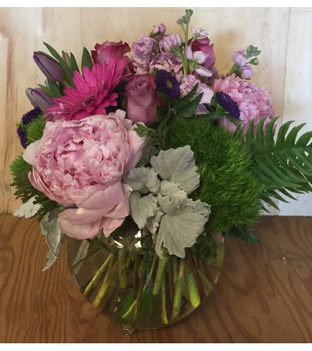 Happy chic bouquet