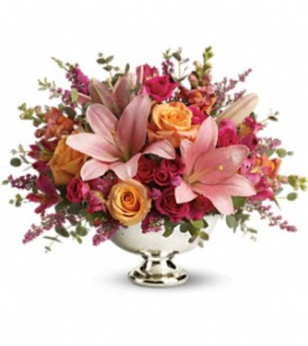 Blooming  Bowl Bouquet