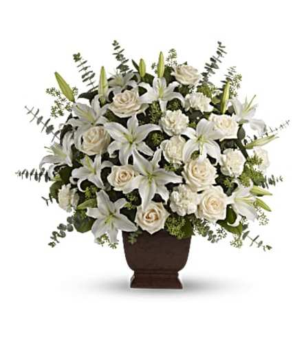 Loving Lilies and Roses Bouquet by Teleflora