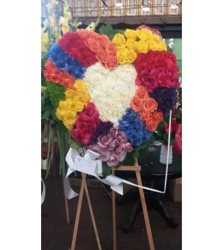 My Rainbow heart