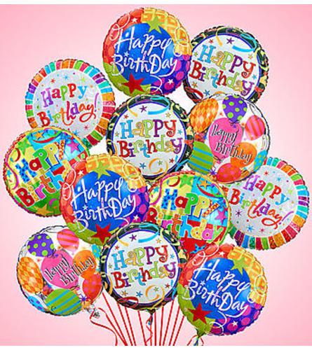 Mylar Balloons - 12